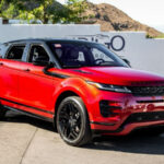 Land Rover Evoque 2020 Red
