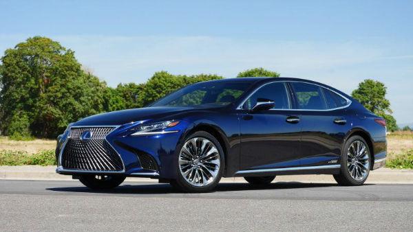 Lexus LS 2020 Blue