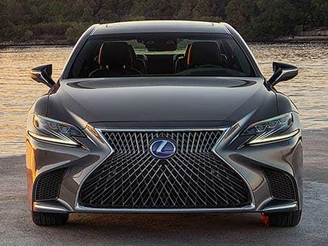 Lexus LS 2020 Grey