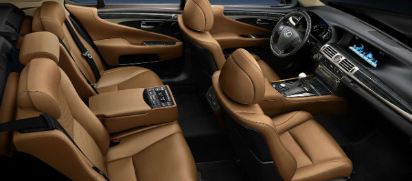 Lexus LS 2020 Inside