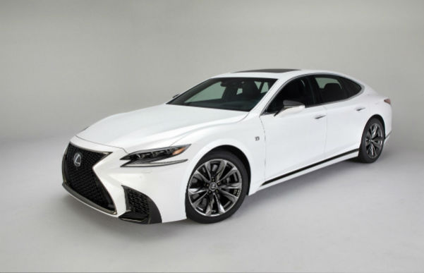 Lexus LS 2020 White