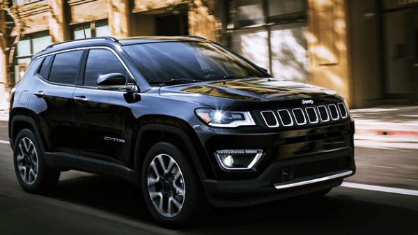 jeep compass 2020 Black