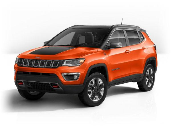 Jeep Compass 2020 Orange