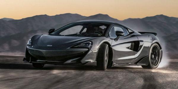 2020 McLaren 600LT Back
