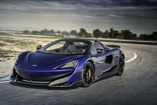 2020 McLaren 600LT Purple