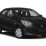 2020 Mitsubishi Mirage Black