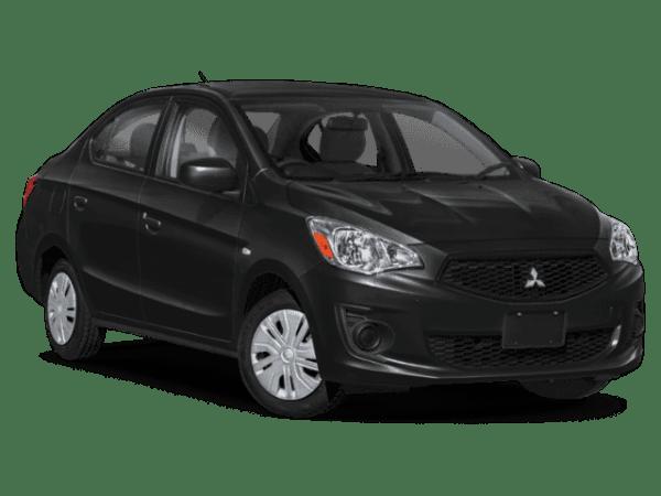 2020 Mitsubishi Mirage Black