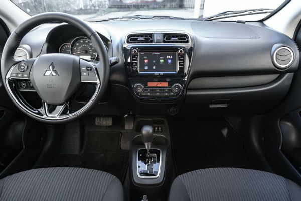 2020 Mitsubishi Mirage Hatchback Interior