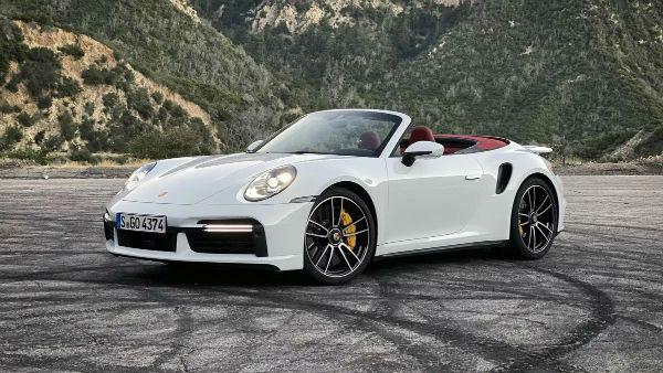 2020 Porsche 911 Turbo S Cabriolet