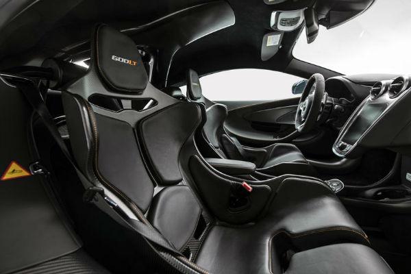 McLaren 600LT 2020 Interior