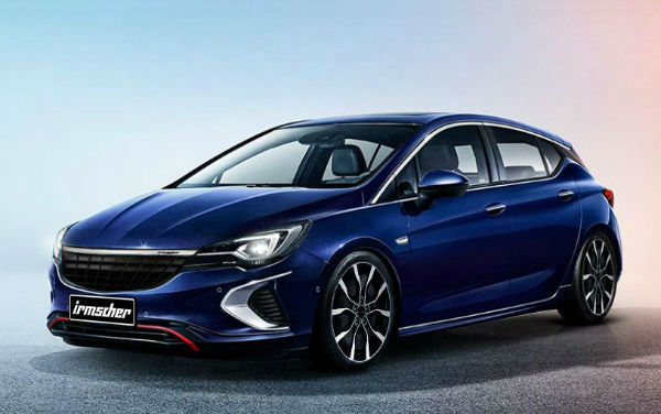 Opel Astra 2020 Blue