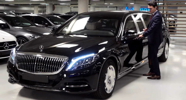 2020 Mercedes Maybach s600 Pullman Guard