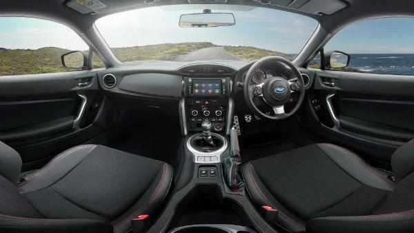 2020 Subaru BZR Interior