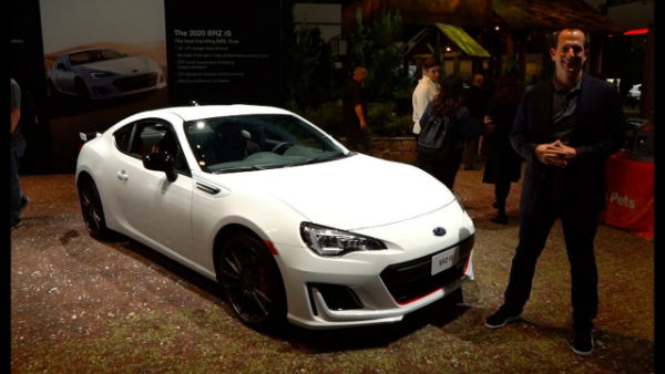 2020 Subaru BZR Limited