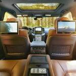 2020 Toyota Land Cruiser Inside