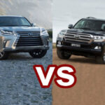 2020 Toyota Land Cruiser vs Lexus LX