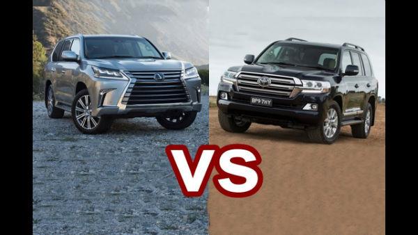 2020 Toyota Land Cruiser vs Lexus LX