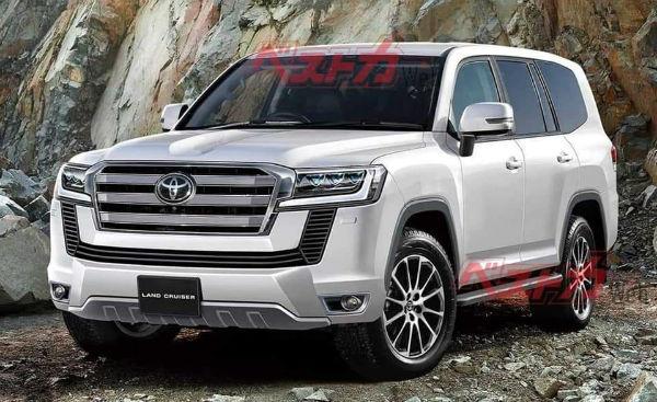 2020 Toyota land Cruiser v8 Diesel