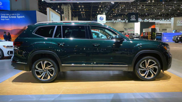 Volkswagen Atlas 2020 Green