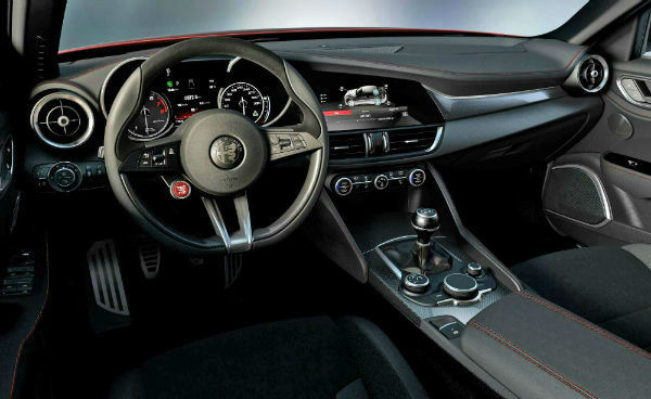 2021 Alfa Romeo GTV Interior
