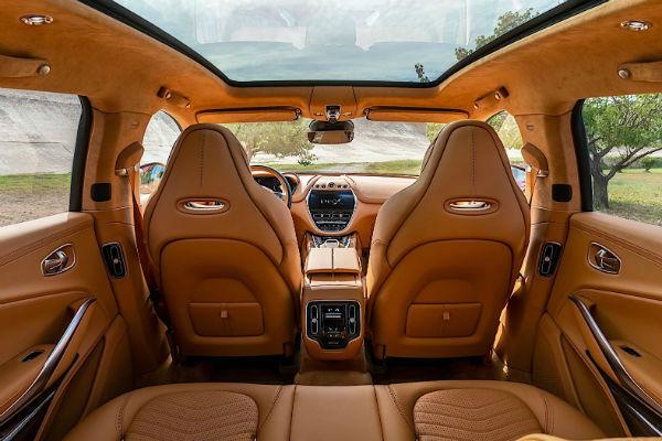 2021 Aston Martin DBX Inside