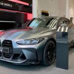 2021 BMW M3 Matte Black