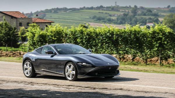 2021 Ferrari Roma Black