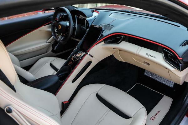2021 Ferrari Roma Interior
