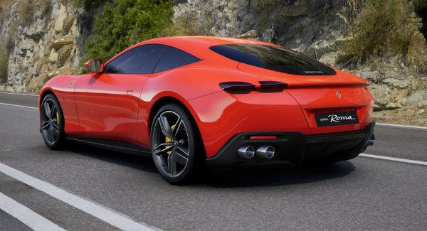 2021 Ferrari Roma Red