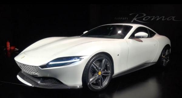 Ferrari Roma 2021 White