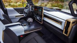 Hummer EV 2022 Interior